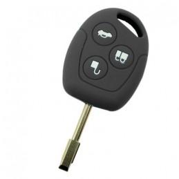 Etui Housse silicone 3 boutons pour clé plip Ford