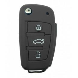 Etui Housse silicone pour clé plip Audi