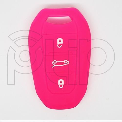 Etui silicone PSA 3 boutons - BLEU