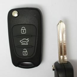 Clé Plip Hyundai Kia 3 boutons