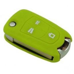 Etui Housse silicone 3 boutons pour clé plip Opel
