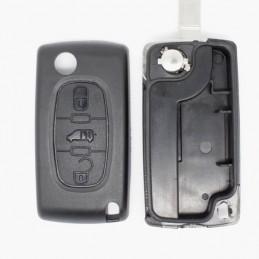 Clé Plip Fiat Scudo (sans connecteur de piles)
