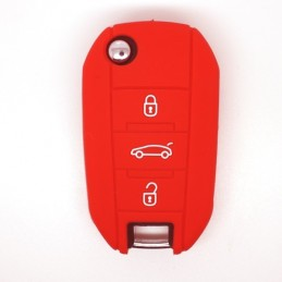 Etui silicone Peugeot 208 508 - Housse pour2 boutons pour clé Plip