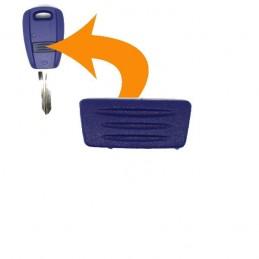 Bouton FIAT Punto, Doblo, Stilo, Bravo, Brava, Ducato et Uno en caoutchouc pour votre clé plip