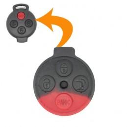 Bouton pour clé plip Smart