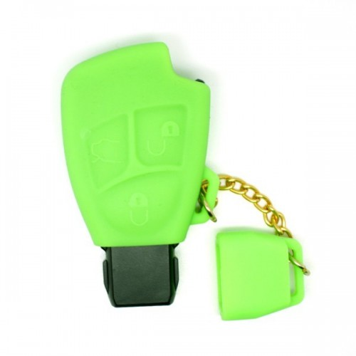 Etui housse silicone Mercedes 3 boutons