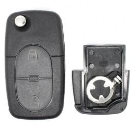 Clé Plip Audi 2 boutons (Pile CR1620)