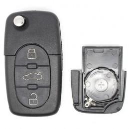Clé Plip VW 3 boutons (Pile CR2032)