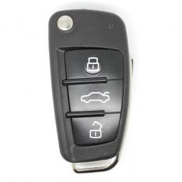 Clé Plip Audi 3 boutons