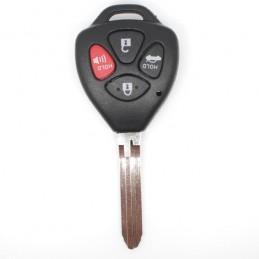 Clé Toyota 4 boutons